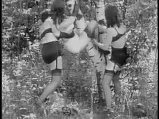 Vintage Stripper Film - B Page The Porch