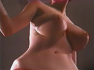 Vintage striptease with busty Lee Germaine, upscaled to 4K