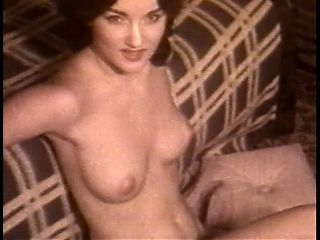 BLUE VELVET - vintage striptease beautiful brunette