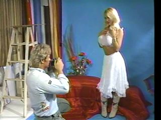 Vintage Busty Blond Gets Cock